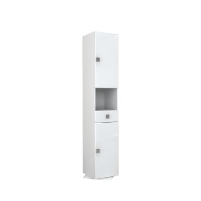 Colonna Super L 36.5 x P 36.5 x H 190 cm bianco laminato