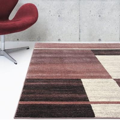 Tappeto Soave Soft Riquadri , multicolor, 160x230 cm