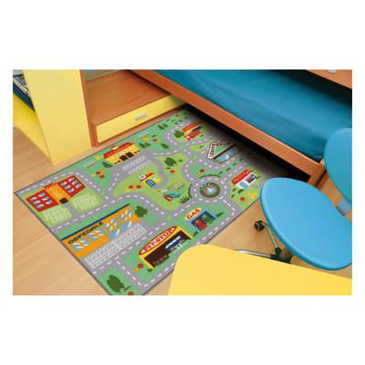 Tappeto antiscivolo Play rug multicolor 100x120 cm