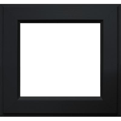 Cornice Laila nero per foto da 30x30 cm