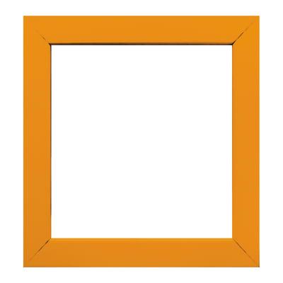 Cornice INSPIRE Easy arancione per foto da 30X30 cm