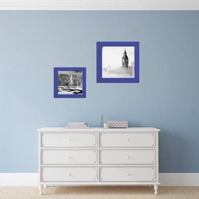 Cornice INSPIRE blu per foto da 30X30 cm