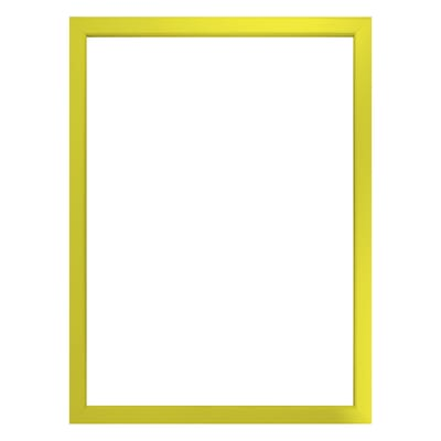 Cornice INSPIRE Easy giallo per foto da 21x29.7 (A4) cm