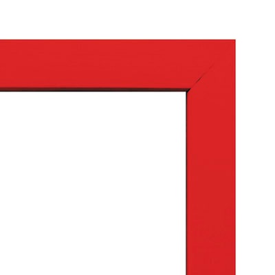 Cornice INSPIRE rosso per foto da 30X30 cm
