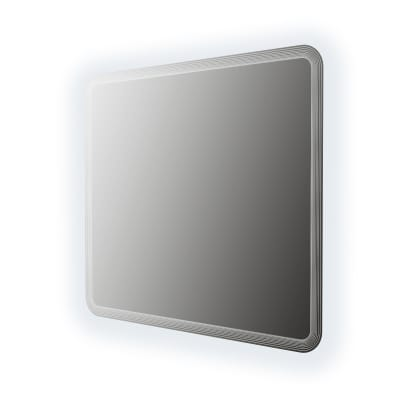 Specchio con illuminazione integrata bagno onda Liverpool L 100 x H 90 cm