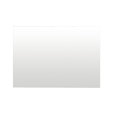 Specchio non luminoso bagno rettangolare Giò L 100 x H 70 cm