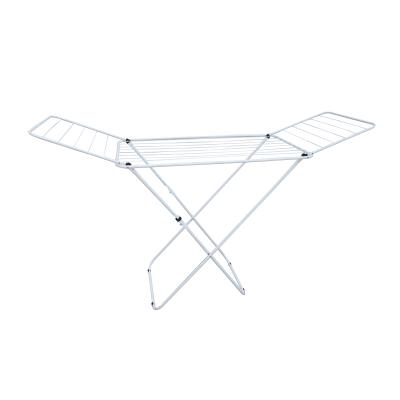Stendibiancheria da appoggio con battenti SENSEA in acciaio per a pavimento L 55 cm bianco