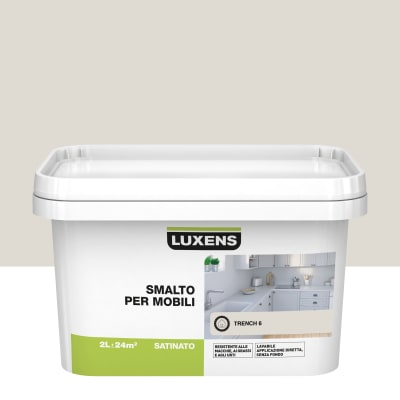 Pittura di ristrutturazione mobile cucina LUXENS 2 l marrone trench 6