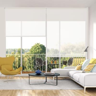Tenda a rullo INSPIRE Screen bianca 135x250 cm