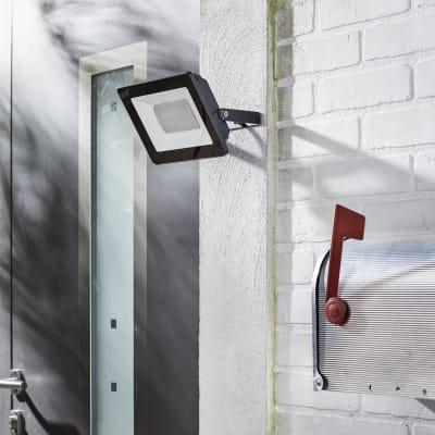Proiettore LED integrato Yonkers in alluminio, antracite, 50W IP65 INSPIRE