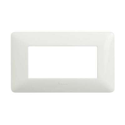Placca BTICINO Matix 4 moduli bianco