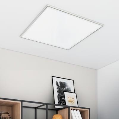 Pannello led Gdansk 60x60 cm regolazione da bianco caldo a bianco freddo, 5250LM INSPIRE