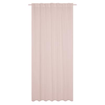 Tenda INSPIRE Soho rosa arricciatura con passanti nascosti 135 x 280 cm