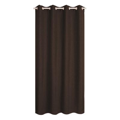 Tenda INSPIRE Oscurante Cardiff cacao occhielli 140 x 280 cm