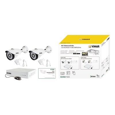 Kit di videosorveglianza filare ELVOX VIMAR 436FA