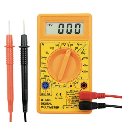 Multimetro digitale elettronico ELECTRALINE 59002