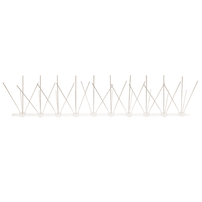 Dissuasore per volatili in acciaio galvanizzato 50 x 50 cm grigio