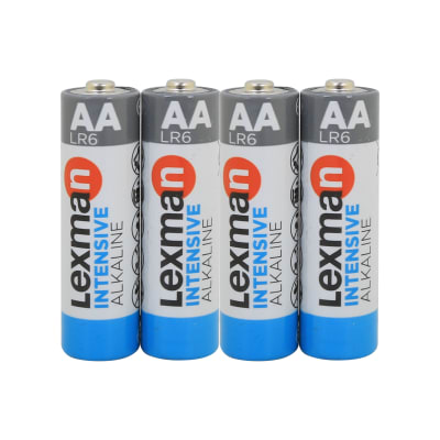 Pila alcalina AA LEXMAN 844996 4 batterie