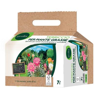 Terriccio GEOLIA per piante grasse 7 L