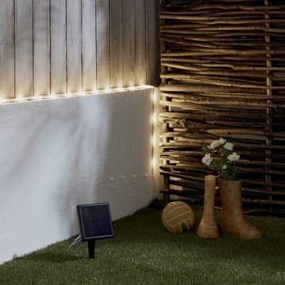 Oggetto luminoso solare Kumba , in plastica, luce bianco caldo, 170LM IP44 INSPIRE