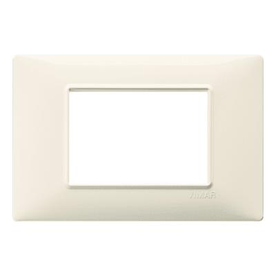 Placca VIMAR Plana 3 moduli beige