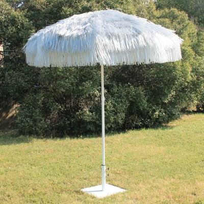 Ombrellone Thaiti L 2 x P 2 m color grigio
