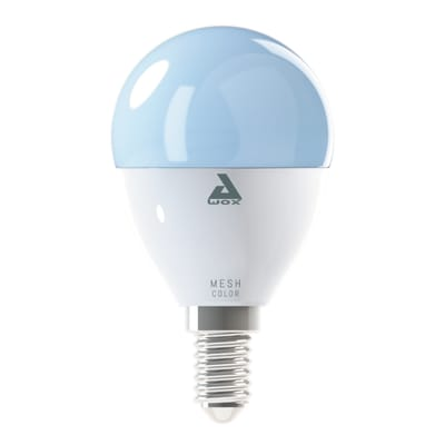 Lampadina smart lighting LED, E14, Goccia, Opaco, Luce CCT e RGB, 5W=400LM (equiv 40 W), 180° , EGLO