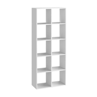 Scocca di armadio ripostiglio 10 cubi Kub SPACEO L 70.4 x H 173.6 x Sp 31.7 cm bianco