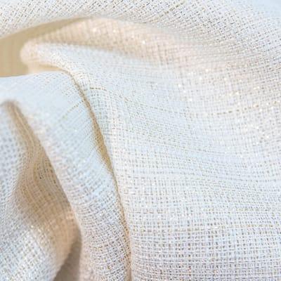 Tenda Lazaro ecru oro occhielli 140x280 cm