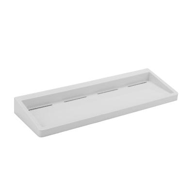 Mensola per bagno Funky L 40 cm bianco