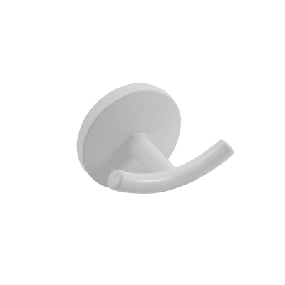 Gancio Suite bianco resina epossidica in zama