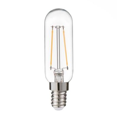 Lampadina LED, E14, Tubo, Trasparente, Luce calda, 2.5W=250LM (equiv 25 W), 360° , LEXMAN