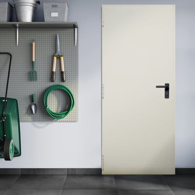 Porta tagliafuoco EI2 60 L 80 x H 205 cm