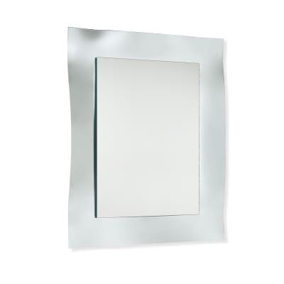 Specchio non luminoso bagno rettangolare Erika L 69 x H 89 cm
