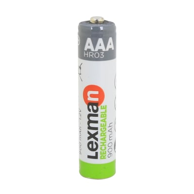 Pila ricaricabile HR3 LEXMAN 844975 4 batterie