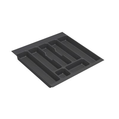 Portaposate L 49.8 x P 49.8 x H 49.8 cm grigio