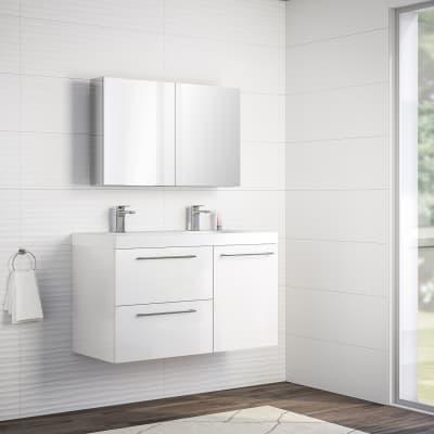 Mobile bagno Remix bianco L 106 cm