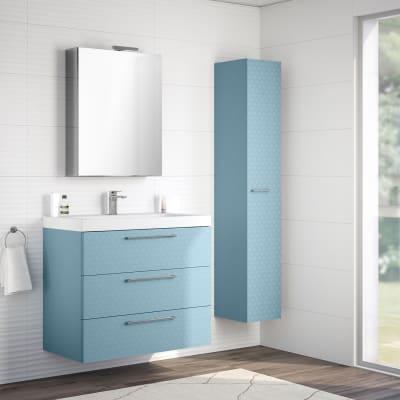 mobile bagno remix azzurro l 90 cm prezzi e offerte online