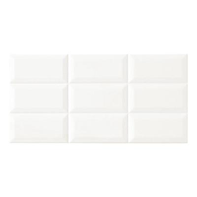Piastrella Diamante L 20 x H 40 cm bianco