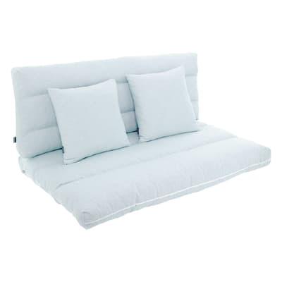 Cuscino azzurro 120x80 cm, 4 pezzi