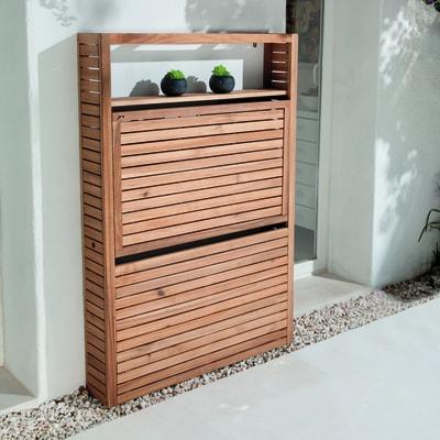 Mobile da giardino in acacia NATERIAL Porto per 2 persone