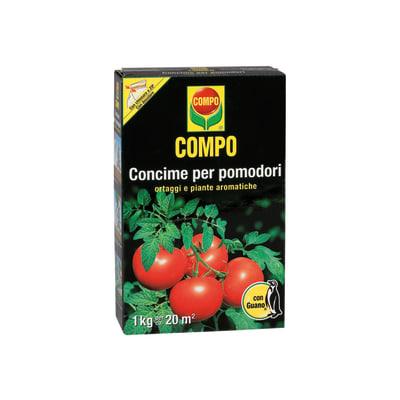 Concime granulare COMPO Gran pomodori 1 Kg