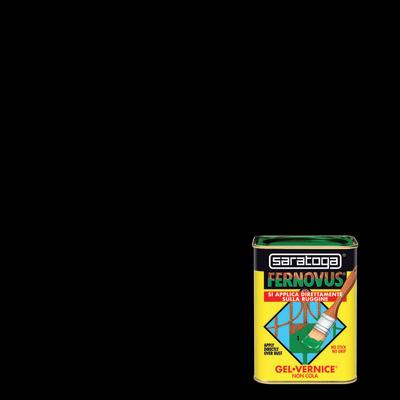 Smalto antiruggine SARATOGA Fernovus nero 0.05 L