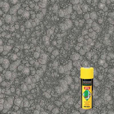 Smalto spray base solvente Fernovus 0.0075 L grigio armatura martellato