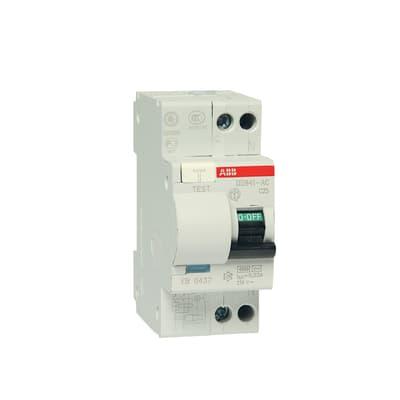 Interruttore magnetotermico differenziale ABB ELDS91LC25AC3 1 polo 25A 4.5kA AC 2 moduli 230V