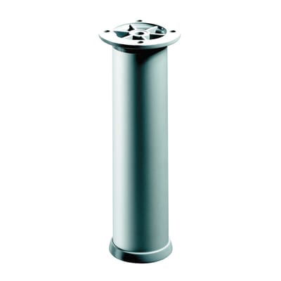Piedi fissi HETTICH acciaio grigio opaco Ø 30 mm x H 23 cm