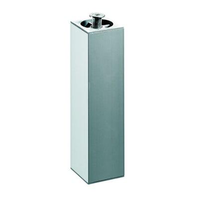 Piedi fissi HETTICH acciaio grigio opaco  L 40 cm x H 23 cm