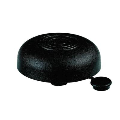 Piedi regolabili HETTICH plastica nero opaco Ø 48 mm x H 19 cm
