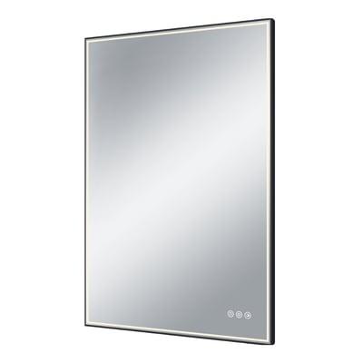 Specchio con illuminazione integrata bagno rettangolare Neo L 60 x H 90 cm SENSEA