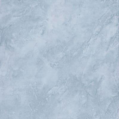 Piastrella Marmor H 33 x L 33 cm  normal azzurro